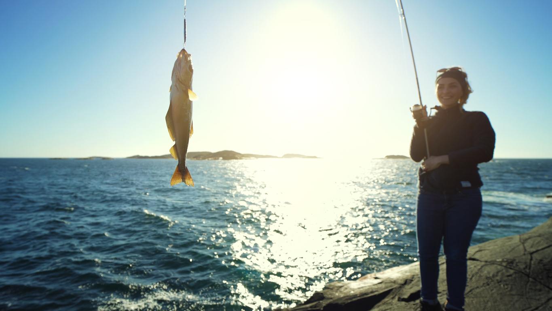 Varför att fiska är bra för hälsan