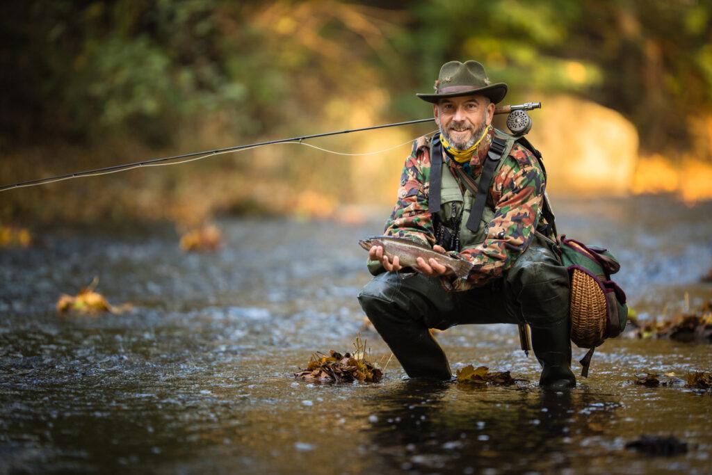 De fem vanligaste sportfiskemetoderna