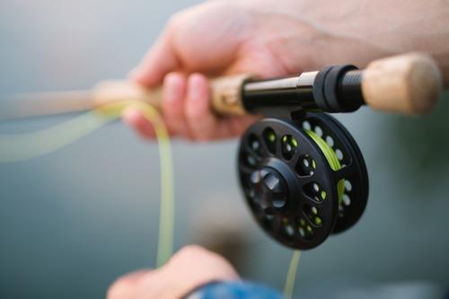 Spännande fisketur med bastutält